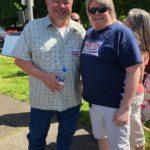 Matthew Heines and Governor Candidate Sheriff Loren Culp