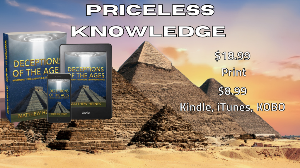 Deceptions of the Ages Priceless Knowledge