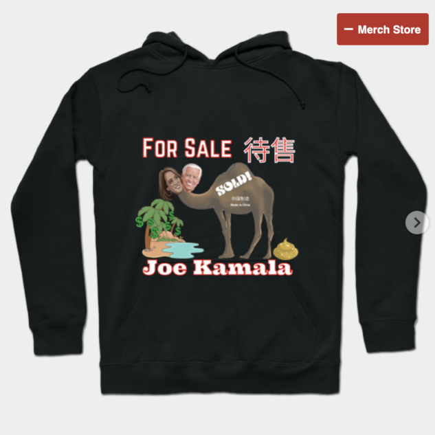 Joe Kamala For Sale Hoodie