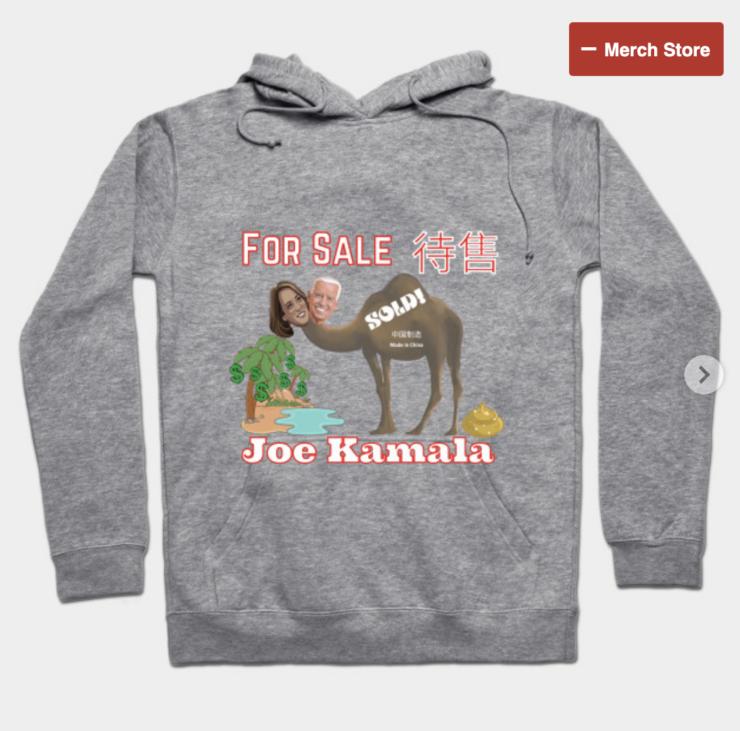Joe Kamala For Sale Hoodie