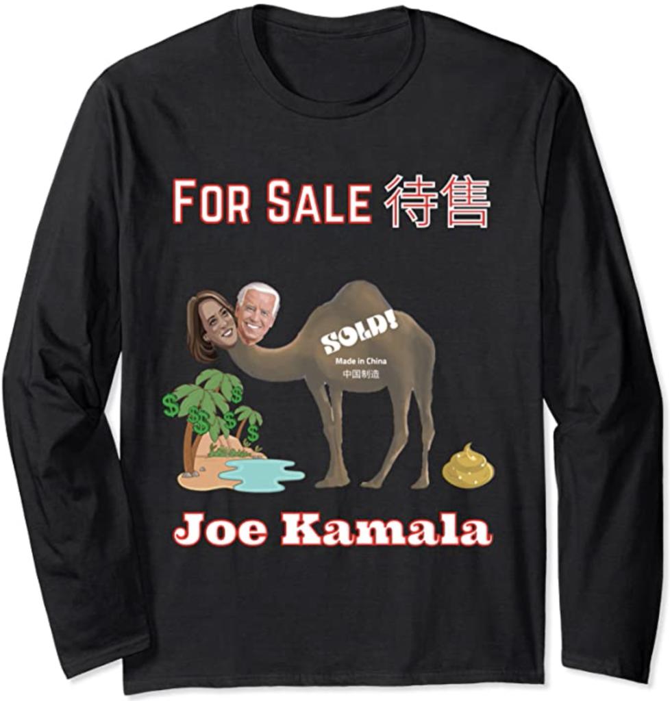 Joe Kamala For Sale Long Sleeve T-Shirt