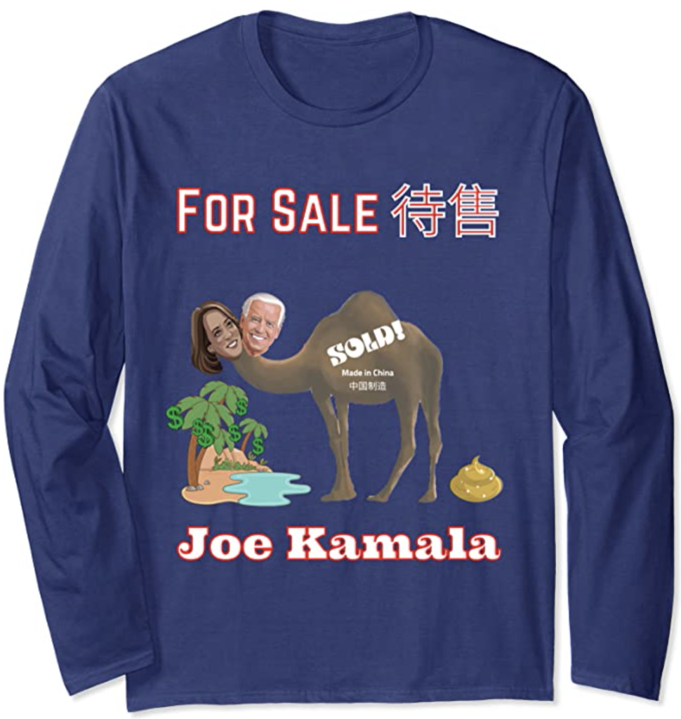 Joe Kamala For Sale Long Sleeve T-Shirt