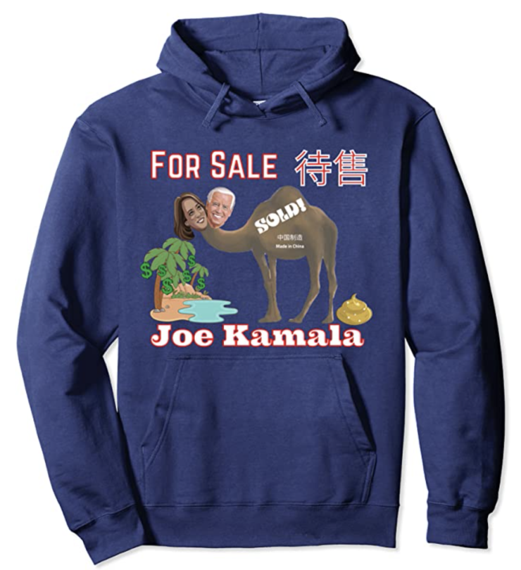 Joe Kamala For Sale Pullover Hoodie