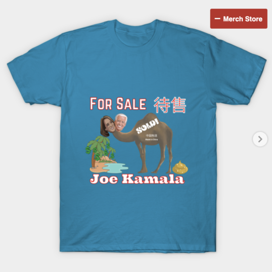 Joe Kamala For Sale T Shirt