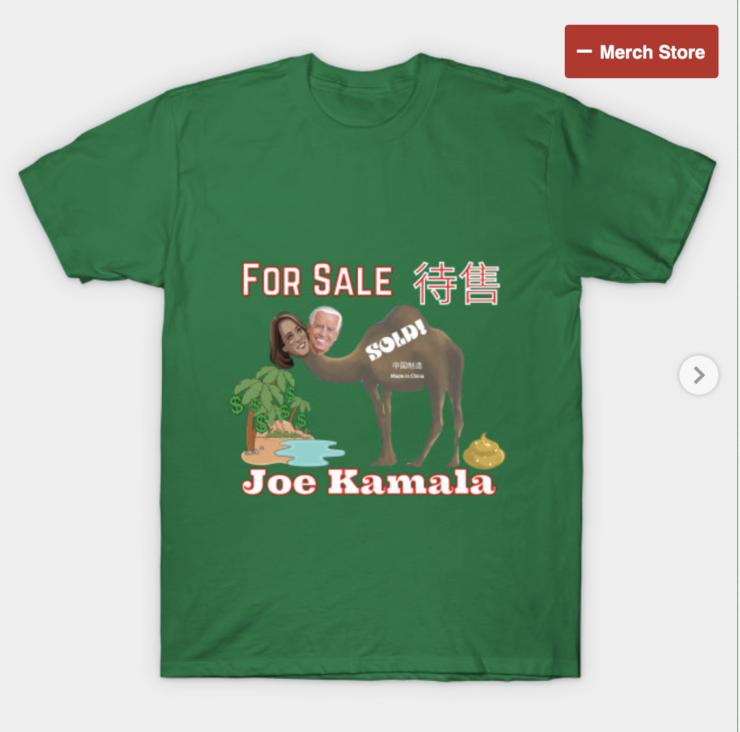 Joe Kamala For Sale T Shirt