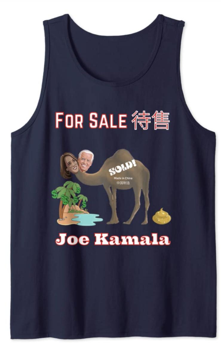 Joe Kamala For Sale Tank Top