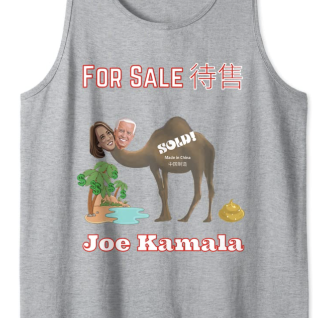 Joe Kamala For Sale Tank Top