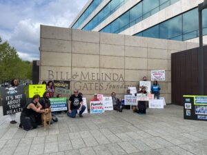 Congressional Candidate joins anti mask protest