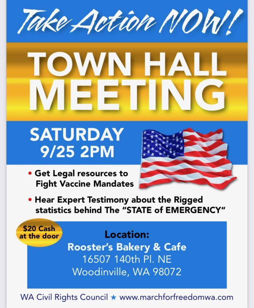 Town Hall Meeting Woodinville