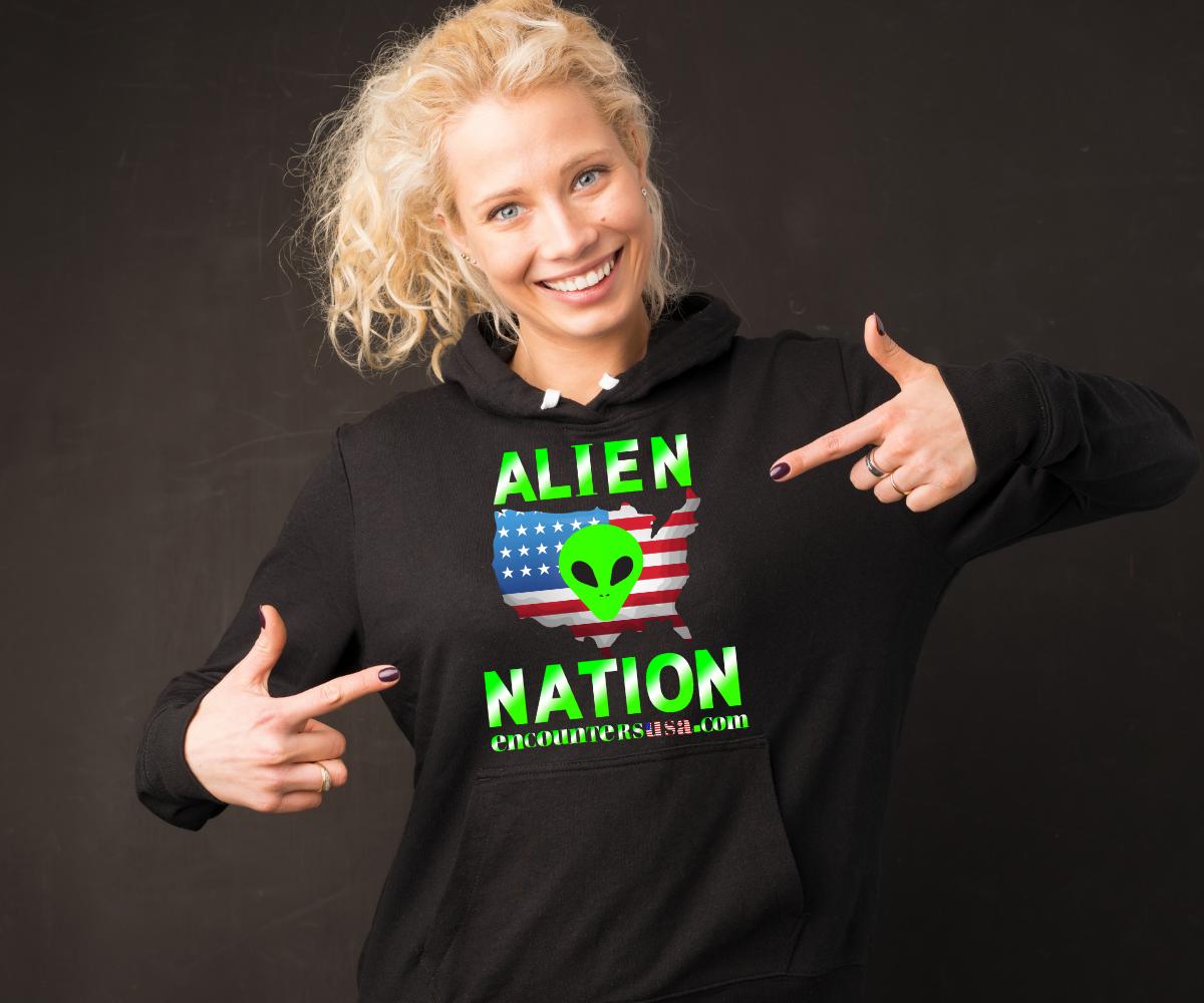 Encounters USA Alien Nation T-shirt
